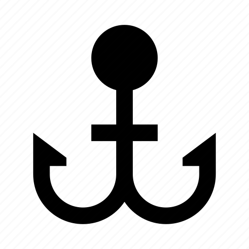 anchor, boat, ship, yacht icon