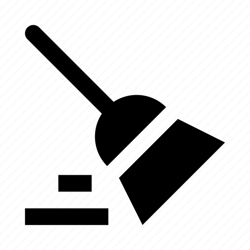 broom, clean, cleaning, home icon