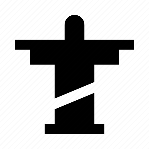 christ, rio, statue icon