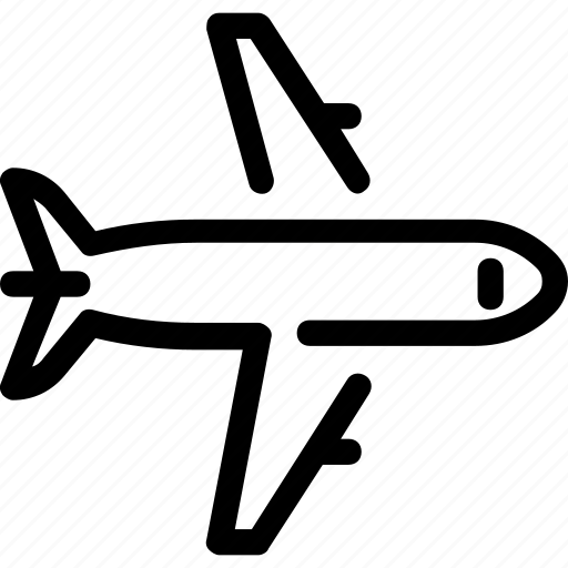air, aircraft, fly, plane, travel icon