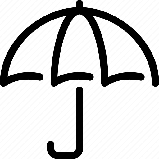 parasol, protection, rain, umbrella, weather icon