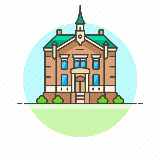 City, hall, travel, building, holiday, sightseeing, vacation icon - Download on Iconfinder