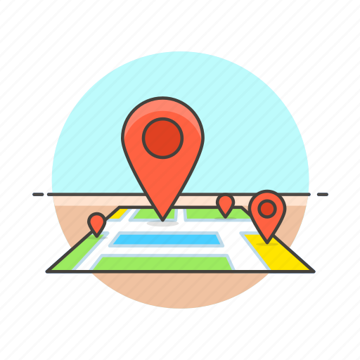 Location, map, travel, direction, gps, navigation, pin icon - Download on Iconfinder