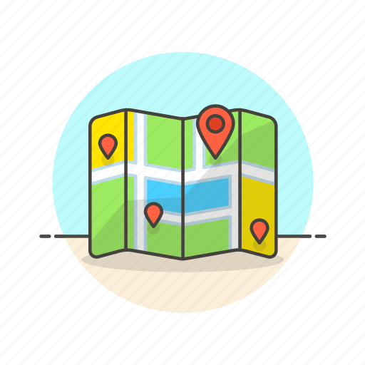 gps, location, map, navigation, pin, transport, travel icon