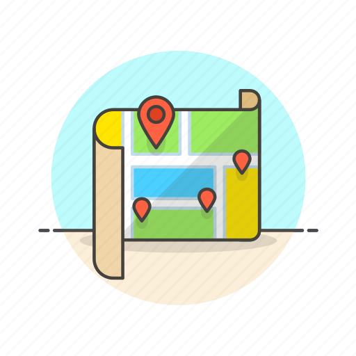 Location, map, travel, gps, marker, navigation, pin icon - Download on Iconfinder