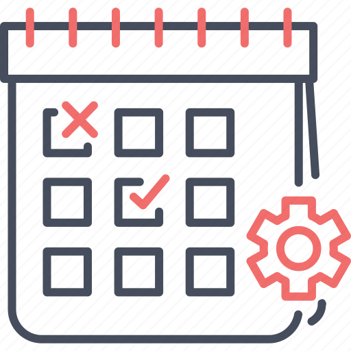calendar, change, date, event, schedule, setting icon