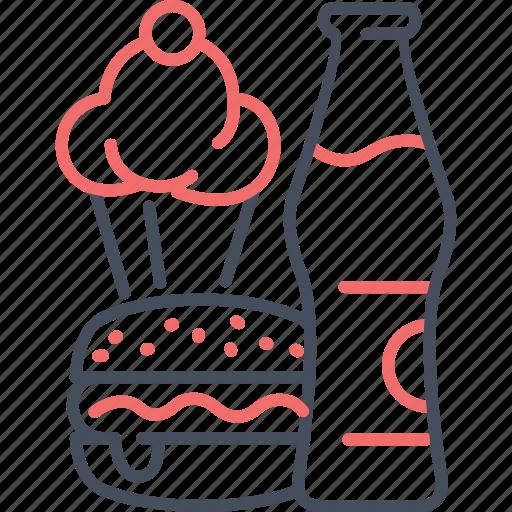 breakfast, food, fun, holiday, icecream icon