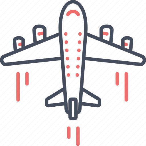airplane, flight, fly, holiday, plane, travel icon
