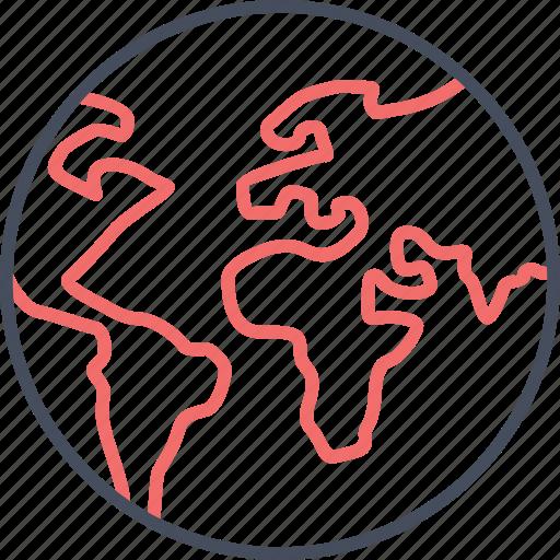 Worldwide, world, travel, global, earth, international icon