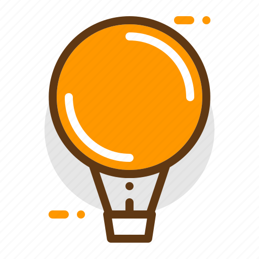 adventure, air, balloon, camping, transportation, travel icon