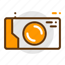 adventure, camera, camping, gopro, lens, travel icon