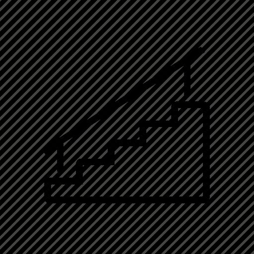 stairs, transit icon