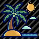 holiday, island, location, travel, vacation