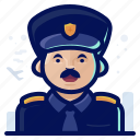 emoji, emoticon, man, occupation, pilot icon