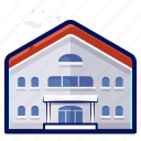 building, holiday, hostel, hotel, travel, vacation icon