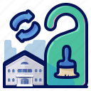 clean, holiday, hostel, hotel, room, travel, vacation icon