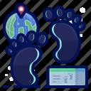 footprint, holiday, travel, vacation, walk