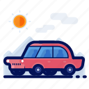 car, holiday, road, travel, trip, vacation, vehicle icon