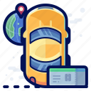 car, holiday, taxi, travel, vacation, vehicle icon