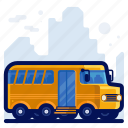 bus, holiday, transportation, travel, vacation, vehicle icon
