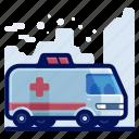 ambulance, emergency, medical, transportation, travel, vehicle