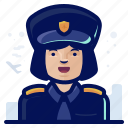 emoji, emoticon, occupation, pilot, woman icon