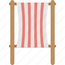 beach chair, chair, tanning, deck chair, furniture