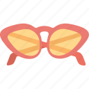 beach glasses, eyeglasses, eyewear, fashion glasses, sun glasses icon