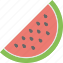 food, fruit, watermelon, natural food, slice of watermelon