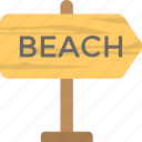 beach direction, beach info board, beach signpost, beach this way, seaside