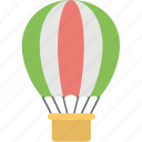 air flight, freedom, exploration, adventure, hot air balloon icon