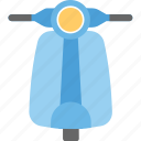 scooter, vehicle, vespa, vespa scooter icon
