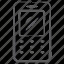 cellular phone, keypad phone, old mobile, retro mobile, vintage mobile icon