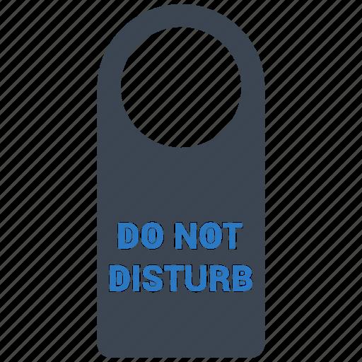 disturb, do not disturb, privacy, private icon
