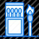 fire stick, ignite stick, matchbox, matchstick, sulphurous stick