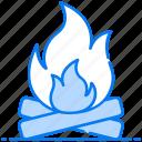 bonfire, campfire, fire pit, firelamp, fireplace, fireside