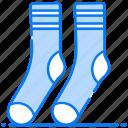feet protection, foot accessory, footwear, hosiery, socks icon