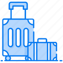 baggage, briefcase, hand carry, luggage, suitcase, trolley bag