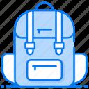 backpack, knapsack, luggage, suitcase, tourist bag, travelling bag