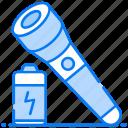 battery light, flashlight, led light, portable light, torchlight