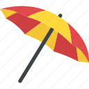 bumbershoot, canopy, parasol, rain protection, umbrella icon