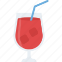 beverage, cocktail, margarita, martini, summer drink icon