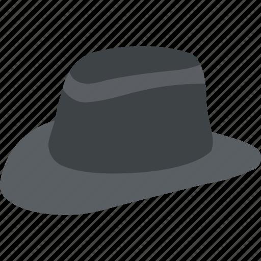 Brimmed sun cap, cowboy hat, floppy hat, stylish summer hat, sun hat icon - Download on Iconfinder