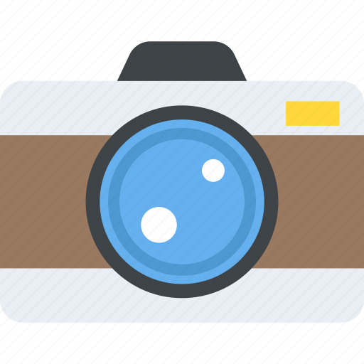 flash camera, photo camera, photographer, photography, retro camera icon