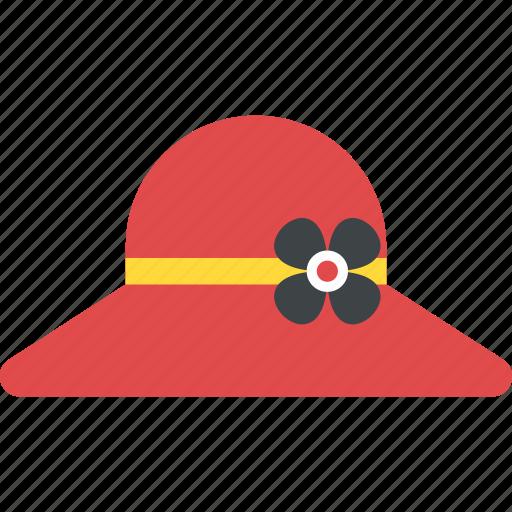 Beach hat, brimmed sun cap, floppy hat, stylish summer hat, sun hat icon - Download on Iconfinder