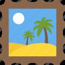 island, natural view, summer season, travelling, tropical trees