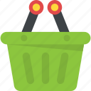 carrier, cart, container, hamper, shopping basket icon