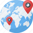 address navigation, geolocation, global placeholder, global positioning system, gps icon