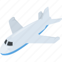 aeroplane, airplane, flight, plane, travel icon