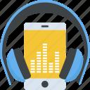 music player, mobile with headphone, multimedia, music enjoyment, music listening